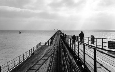 Southend on Sea pier, Essex, England